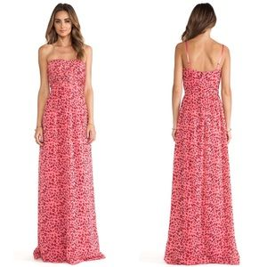 NWT ERIN Erin Fetherston Tuberose Long Maxi Gown
